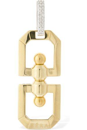 Eera Damen Ohrringe - Mono-ohrring Aus 18kt Mit Diamanten