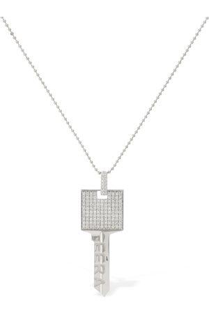 Eera Damen Halsketten - Ketten-ohrring Aus 18 Kt Gold Mit Pavé