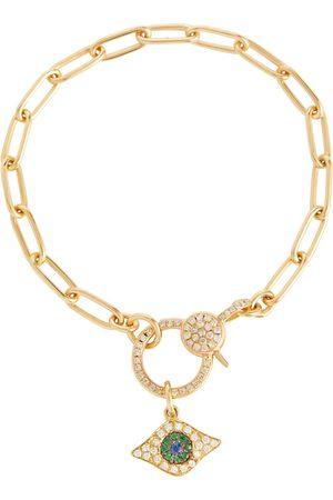 Ileana Makri Damen Armbänder - Armband Eye aus 14kt mit Diamanten