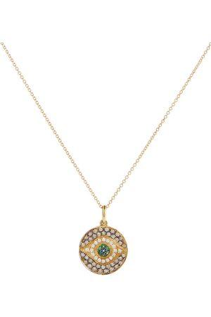 Ileana Makri Halskette Little Dawn aus 18kt Gelbgold mit Diamanten