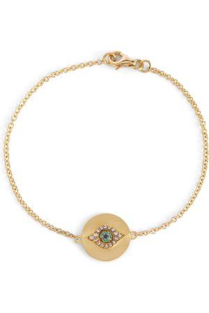 Ileana Makri Armband Eye aus 14kt mit Diamanten