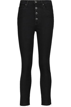 3x1 High-Rise Cropped Skinny Jeans Poppy