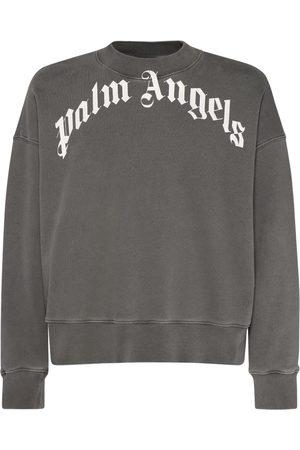 Palm Angels Sweathirt Aus Baumwolljersey Mit Logo