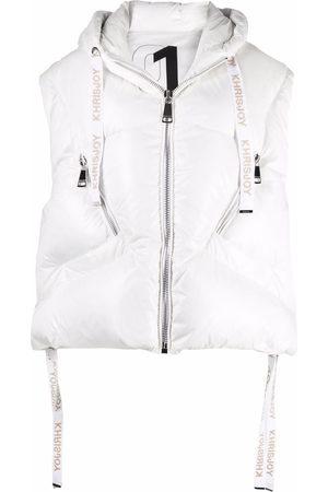 Khrisjoy Damen Westen - Hooded puffer vest