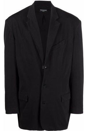 Balenciaga Blazer & Sakkos - Worn-out single-breasted blazer