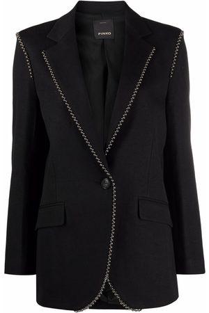 Pinko Ball chain-embellished blazer