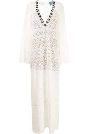 Macgraw Mythology cotton maxi dress