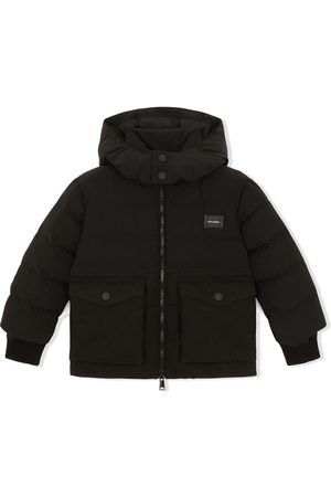 Dolce & Gabbana Jungen Mäntel - Padded hooded coat