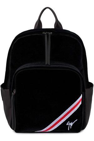 Giuseppe Zanotti Herren Rucksäcke - Chalmer velvet backpack