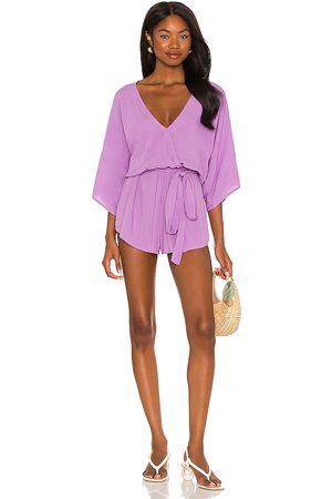 Indah Damen Jumpsuits - Sunday Kimono Romper in - Purple. Size M/L (also in S/M).