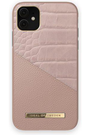 IDEAL OF SWEDEN Damen Handy - Atelier Case iPhone 11 Rose Smoke Croco