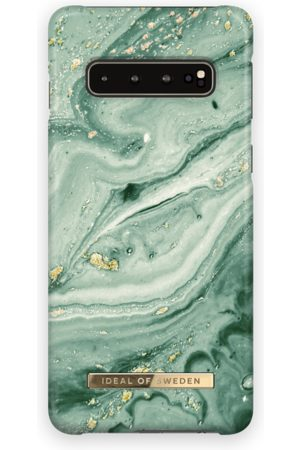 Ideal of sweden Fashion Case Galaxy S10 Mint Swirl Marble