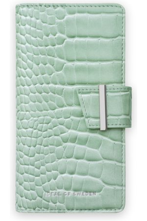 Ideal of sweden Cora Phone Wallet iPhone 11 Pro Max Mint Croco
