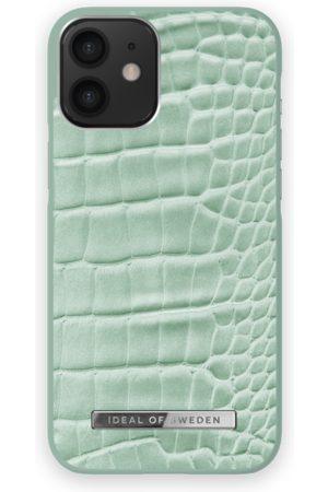 Ideal of sweden Atelier Case iPhone 12 Mini Mint Croco