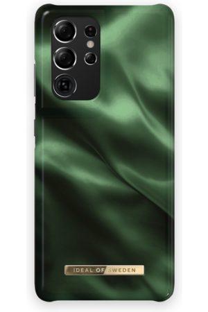 Ideal of sweden Fashion Case Galaxy S21 Ultra Emerald Satin