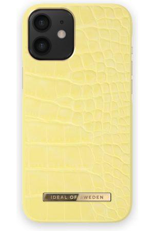 Ideal of sweden Atelier Case iPhone 12 Mini Lemon Croco