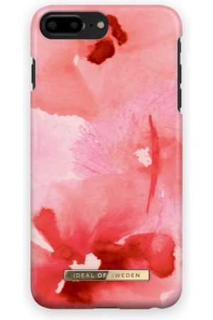 Ideal of sweden Fashion Case iPhone 8 Plus Coral Blush Floral
