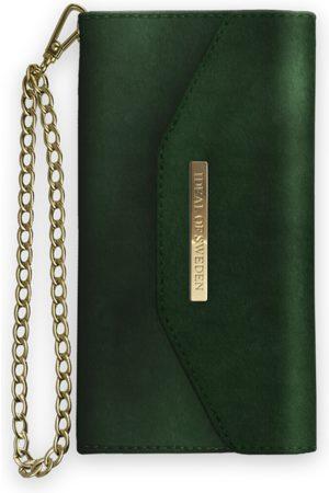 Ideal of sweden Mayfair Clutch Velvet iPhone Xs Max Green