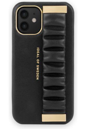 Ideal of sweden Statement Case iPhone 12 Mini Ruffle Noir Top-Handle