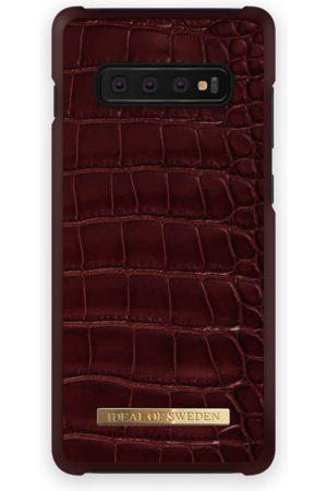 Ideal of sweden Croco Case GALAXY S10+ Claret Croco