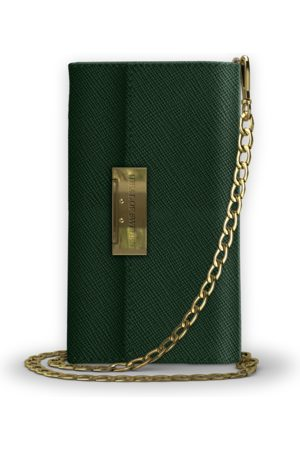 Ideal of sweden Kensington Clutch iPhone XS MAX Green