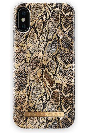 Ideal of sweden Fashion Case iPhone X Golden Gecko