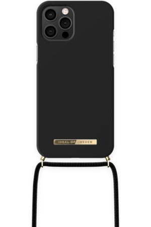 Ideal of sweden Ordinary Phone Necklace Case iPhone 12 Pro Max Jet Black