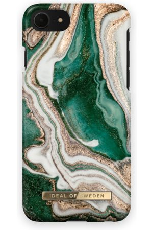 Ideal of sweden Fashion Case iPhone 8 Golden Jade Marble