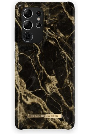 Ideal of sweden Fashion Case Galaxy S21 Ultra Golden Smoke Marble