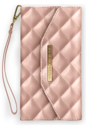 Ideal of sweden Sylvie Meis Mayfair Clutch iPhone X Quilted Dusty Rose