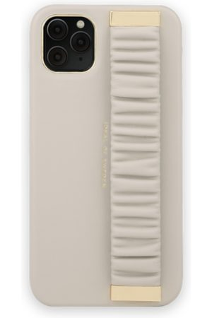 Ideal of sweden Statement Case iPhone 11 Pro Max Ruffle Cream Top-Handle