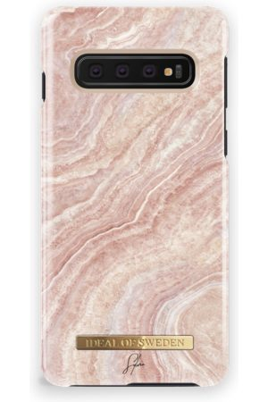 Ideal of sweden Fashion Case Sylvie Meis Galaxy S10 Rosy Reef Marble