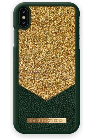 Ideal of sweden Fashion Case Glimmer iPhone XS MAX Emerald
