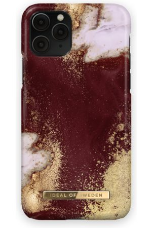 Ideal of sweden Fashion Case iPhone 11 Pro Golden Burgundy Marble
