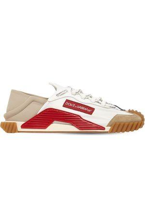 """Dolce & Gabbana Sneakers Aus Mesh Und Wildleder """"ns1"""""""