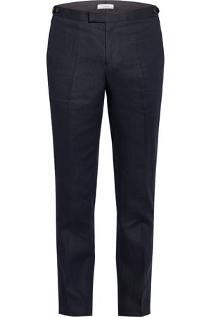 Reiss Herren Stoffhosen - Anzughose Kin Slim Fit blau