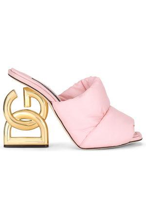 Dolce & Gabbana Damen Clogs & Pantoletten - DG-heel mules