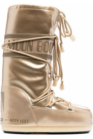 Moon Boot Icon metallic snow boots