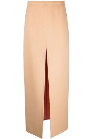 Emilio Pucci Damen Maxiröcke - Double-faced split maxi skirt
