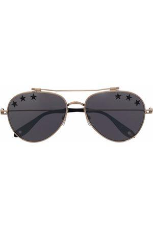 Givenchy Star print tinted aviator sunglasses
