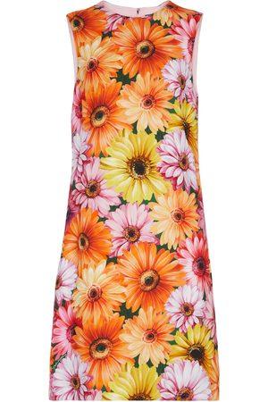 Dolce & Gabbana Damen Bedruckte Kleider - Bedrucktes Minikleid