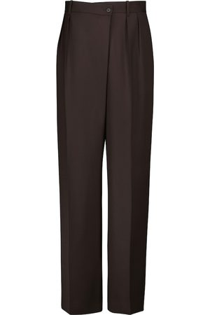 The Row Damen Weite Hosen - High-Rise-Hose Willow aus Wolle