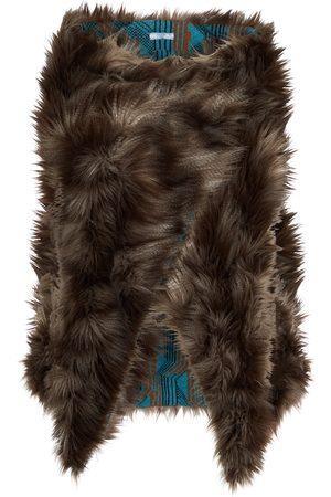 Prada Cape aus Faux Fur
