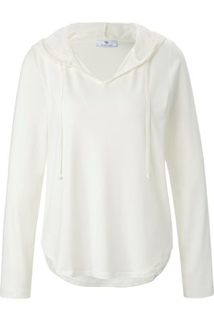 Peter Hahn Damen Sweatshirts - Hoodie-Shirt weiss