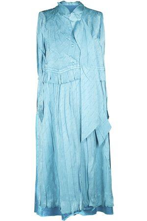 BALENCIAGA Langes Kleid Aus Seidenjacquard