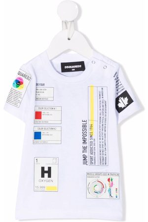 Dsquared2 Shirts - Patch-detail short-sleeved T-shirt