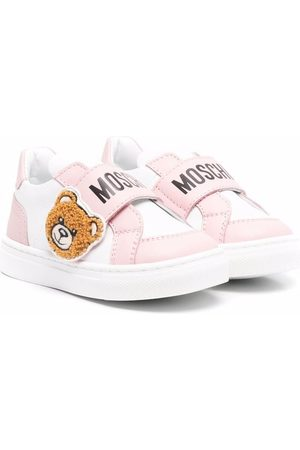 Moschino Teddy bear-embellished sneakers
