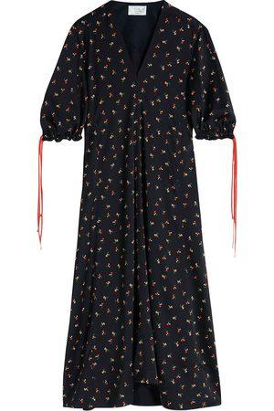Victoria Victoria Beckham Floral-print maxi dress