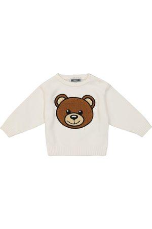 Moschino Baby Sweatshirt aus Stretch-Baumwolle