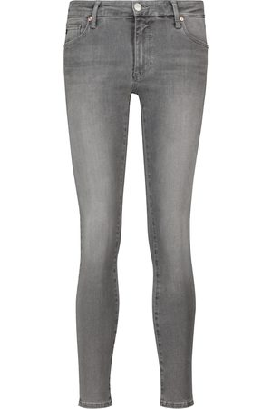 AG Jeans Damen High Waisted - Mid-Rise Skinny Jeans